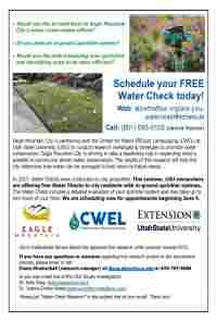 Schedule your FREE Water Check today!: $0.00 in Eagle Mountain, UT - (1 image)